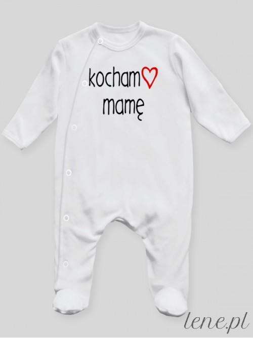 Pajac niemowlęcy Kocham Mamę 01