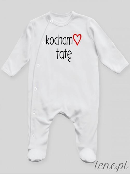 Pajac niemowlęcy Kocham Tatę 01