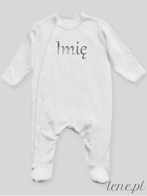 Pajac niemowlęcy  Imię Srebrne