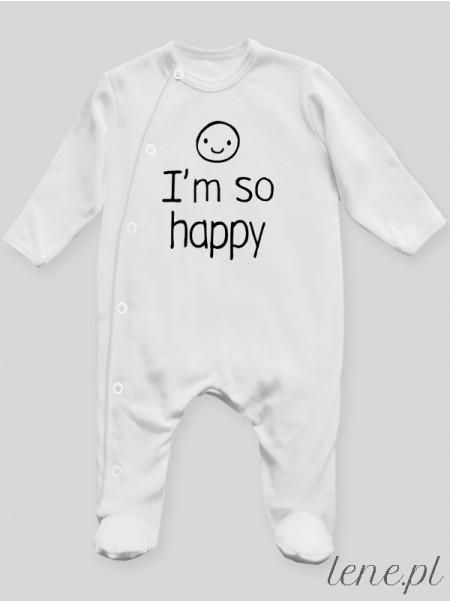 I'M So Happy - pajac niemowlęcy