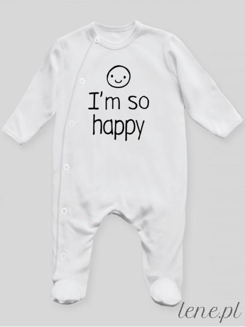 Pajac niemowlęcy  I'M So Happy