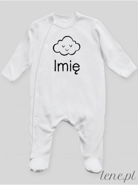 Chmurka Z Imieniem - pajac niemowlęcy