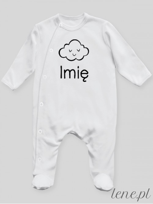 Pajac niemowlęcy  Chmurka + Imię