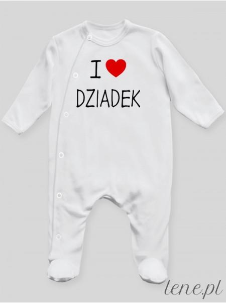 I Love Dziadek - pajac niemowlęcy