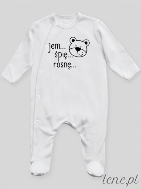 Jem Śpię Rosnę - pajac niemowlęcy