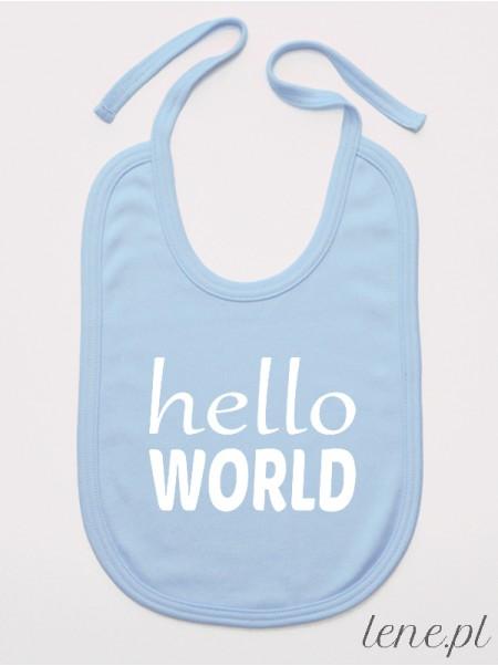 Hello World - śliniak