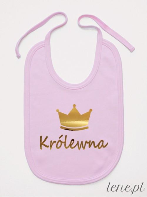 Śliniak niemowlęcy Królewna