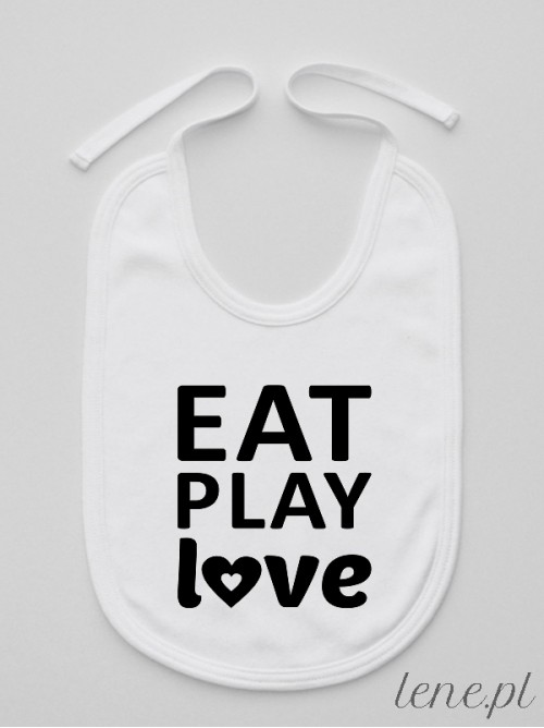 Śliniak Eat Play Love