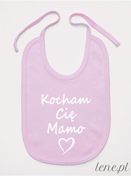 Kocham Cię Mamo - śliniak