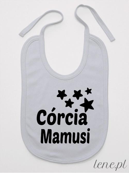 Śliniak niemowlęcy Córcia Mamusi 01