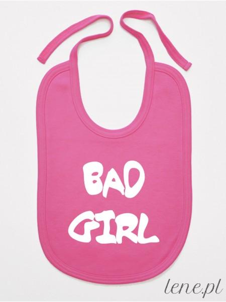 Bad Girl - śliniak niemowlęcy