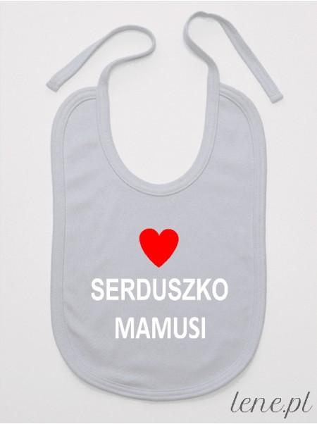 Serduszko Mamusi - śliniak