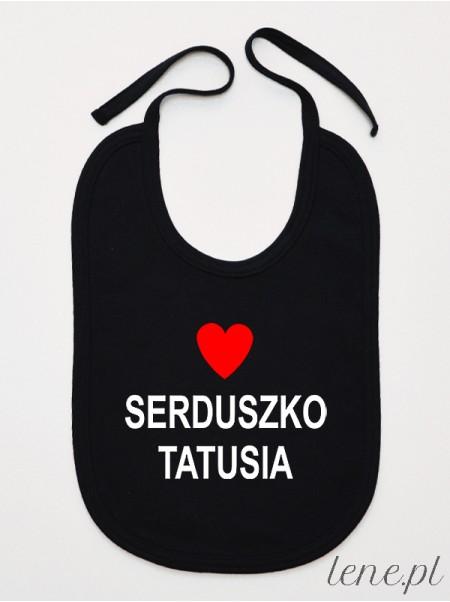 Serduszko Tatusia - śliniak