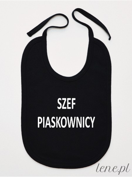 Szef Piaskownicy - śliniak