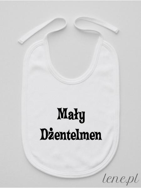Mały Gentelman - śliniak
