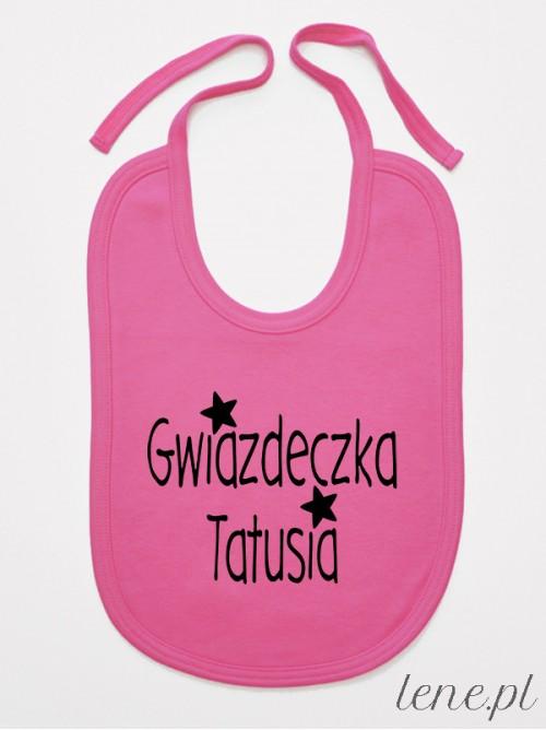Śliniak niemowlęcy Gwiazdeczka Tatusia
