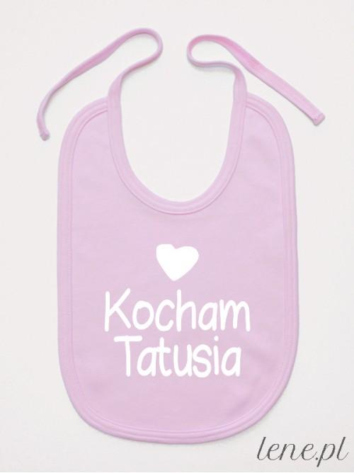 Śliniak niemowlęcy Kocham Tatusia 01