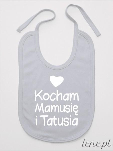 Kocham Mamusię I Tatusia 01 - śliniak