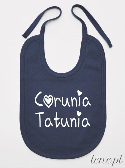 Śliniak niemowlęca Córunia Tatunia