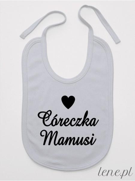 Córeczka Mamusi - śliniak