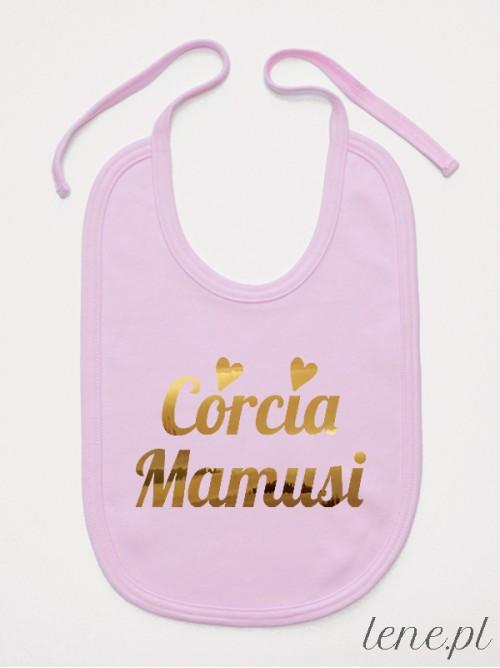 Śliniak niemowlęcy Córcia Mamusi 02