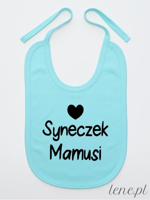 Śliniak niemowlęcy Syneczek Mamusi