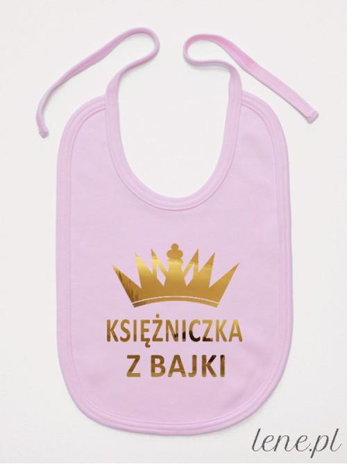 Śliniak niemowlęcy Księżniczka Z Bajki