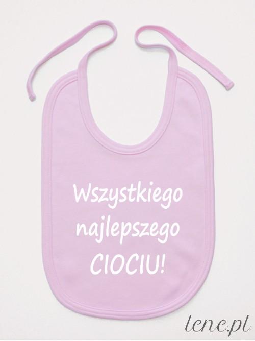 Śliniak niemowlęcy Dla Cioci Życzenia