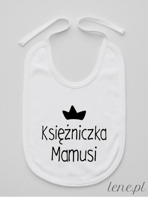 Śliniak niemowlęcy Księżniczka Mamusi