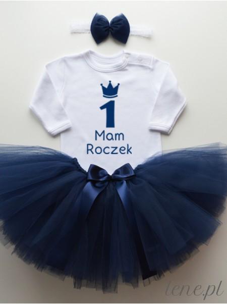 Mam Roczek - Komplet Spódniczka Tutu Granatowa I Body