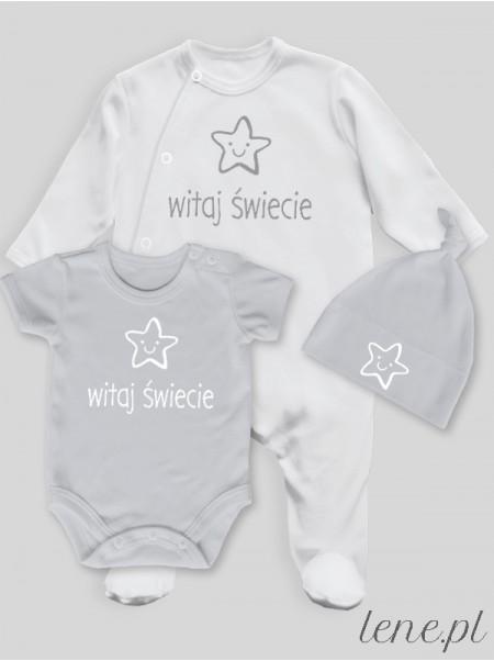 Witaj Świecie - komplet niemowlęcy