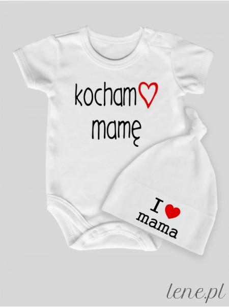 Kocham Mamę - komplet niemowlęcy