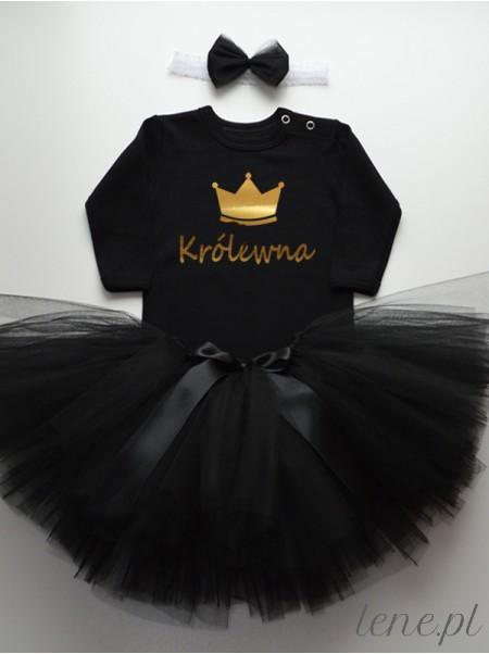 Królewna Złota - Komplet Spódniczka Tutu I Body