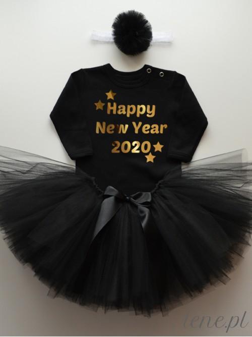 Komplet Spódniczka Tutu I Body - Happy New Year + Rok