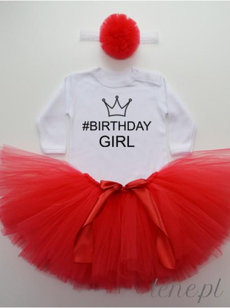 Birthday Girl Korona - Komplet Spódniczka Tutu I Body