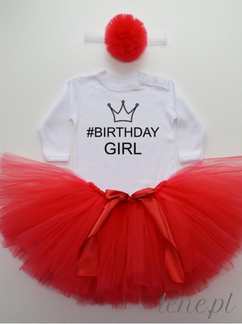 Komplet Spódniczka Tutu I Body - Birthday Girl Korona