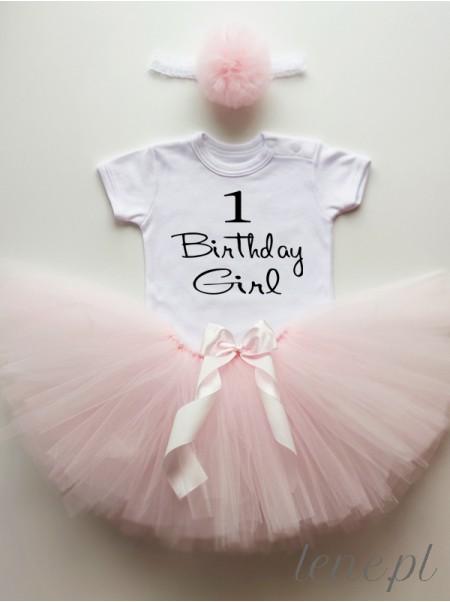 Jedynka Birthday Girl - Komplecik Spódniczka Tutu I Body