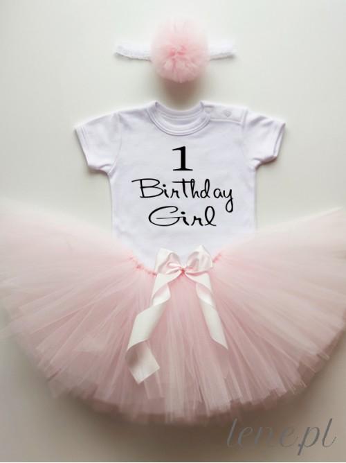 Komplecik Spódniczka Tutu I Body - Jedynka Birthday Girl