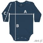 body niemowlęce długi rekaw